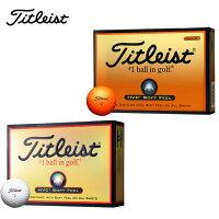タイトリスト(Titleist)ゴルフボール1ダース(12個入り)HVCソフトフィール