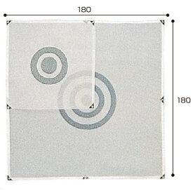 ライト LITEゴルフ 練習用 練習器具 的 消音メッシュ 180×180cm M-78