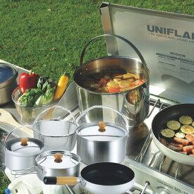 【1/25限定 クーポンで1000円引&ポイント5倍】 ユニフレーム UNIFLAME 調理器具セット 鍋 フライパン fan5 Duo 660256