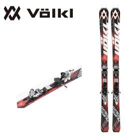 フォルクル Volkl メンズ レディース スキー板セット 金具付 PLATINUM TRS + 4MOTION 11.0 TC D プラチナム 【取付料送料無料】