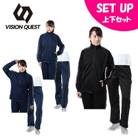 ビジョンクエスト VISION QUEST スポーツウェア上下セット レディース トレーニング + トレーニングパンツ短 VQ451401H52 + VQ451402H54