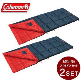 コールマン 封筒型シュラフ パフォーマーIII/C5 オレンジ セット 2000034774 Coleman