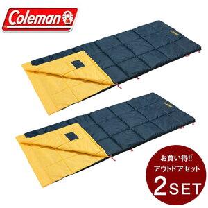 コールマン 封筒型シュラフ パフォーマーIII C10 イエロー セット 2000034775 Coleman