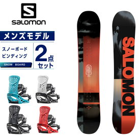 サロモン スノーボード 2点セット メンズ ボード+ビンディング PULSE + PR salomon
