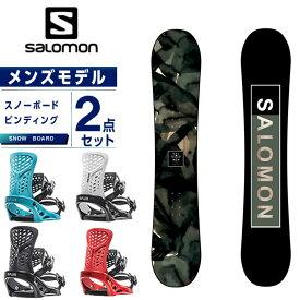 サロモン スノーボード 2点セット メンズ ボード+ビンディング SUBJECT MEN + PR salomon