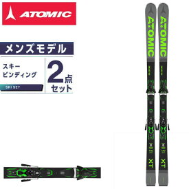 アトミック ATOMIC スキー板 オールラウンド 板・金具セット メンズ REDSTER XT + FT10 GW スキー板+ビンディング