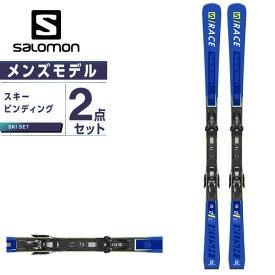 サロモン スキー板 オールラウンド 板・金具セット メンズ S/RACE RUSH SL +X12TL GW スキー板+ビンディング salomon