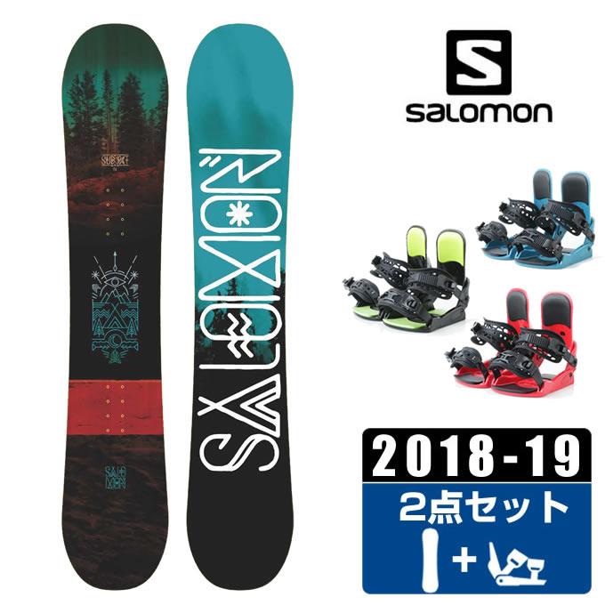 サロモン スノーボード 2点セット メンズ SUBJECT MEN + KONNECT salomon