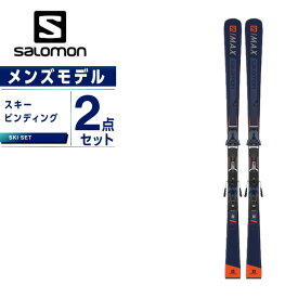 サロモン スキー板 セット金具付 メンズ スキー板+ビンディング エスマックス S/MAX 12 +Z12WALK salomon