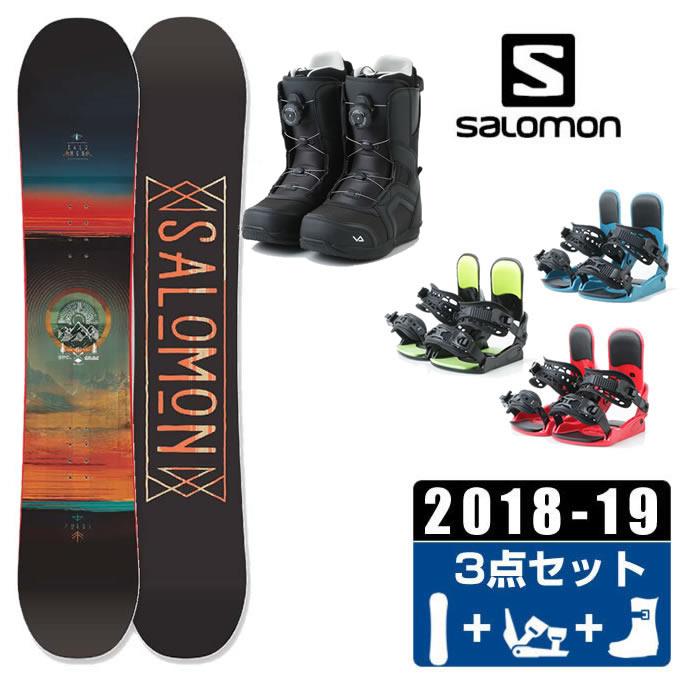サロモン スノーボード 3点セット メンズ PULSE + KONNECT + SUPERB ボード+ビンディング+ブーツ salomon