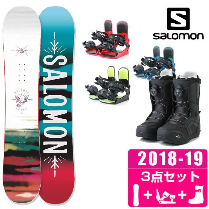 サロモン スノーボード 3点セット レディース LOTUS + KONNECT + SUPERB ボード+ビンディング+ブーツ salomon