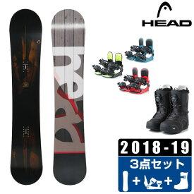 ヘッド HEAD スノーボード 3点セット メンズ FUSION + KONNECT + SUPERB ボード+ビンディング+ブーツ