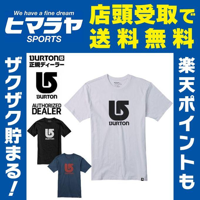 バートン BURTON Tシャツ メンズ Logo Vertical SS Tee 168371