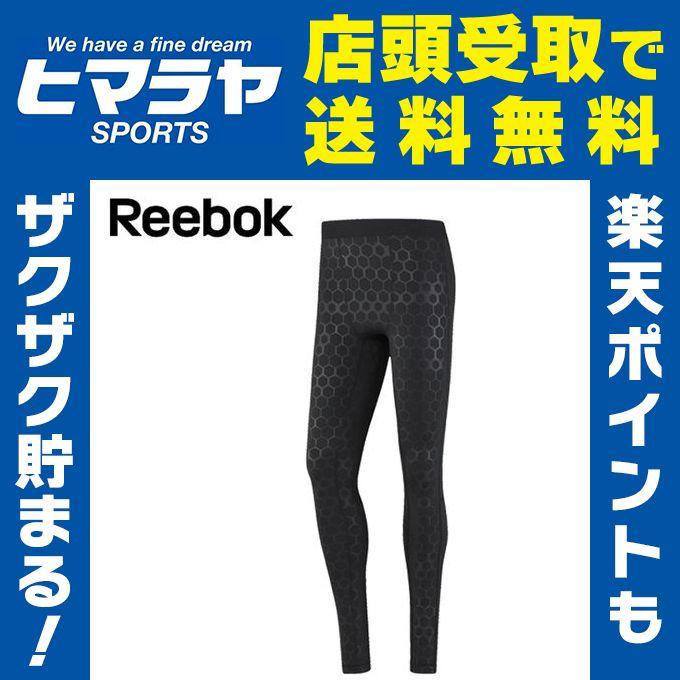 リーボック Reebok ロングタイツ メンズ ワンシリーズ HEXAWARM リフレクティヴ サーマルタイツ DMP74 BQ3419