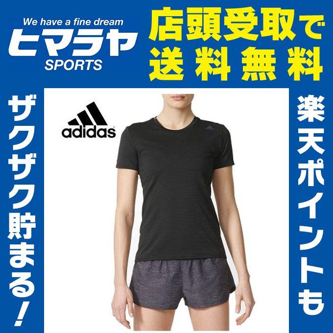 アディダス ランニング レディース エスノバ Snova 半袖Tシャツ BPF14 adidas