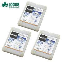 ロゴス(LOGOS)保冷剤氷点下パックGT-16℃・ハード1200g×3個【お買い得3点セット】R16AE020