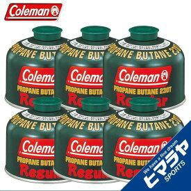 コールマン ガスカートリッジ 純正LPガス燃料[Tタイプ]230g×6個セット 5103A230T coleman
