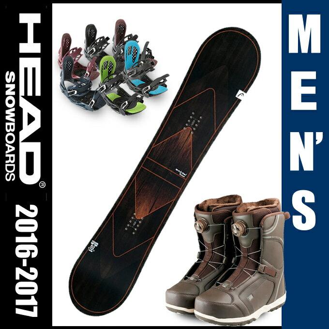 ヘッド HEAD スノーボード 3点セット メンズ FUSION FLOCKA H +SCOUT PRO BOA H +AXEL 2 ボード+ビンディング+ブーツ