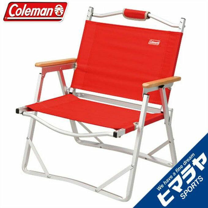 コールマン Coleman アウトドアチェアコンパクトフォールディングチェア レッド 170-7670アウトドア ファニチャー キャンプ BBQ バーベキュー 焚き火