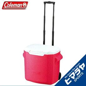 コールマン クーラーボックス 26L キャスター付 ホイールクーラー 28QT ピンク 2000010028 Coleman
