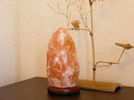 【送料無料】ナチュラル岩塩ランプ2-3kg