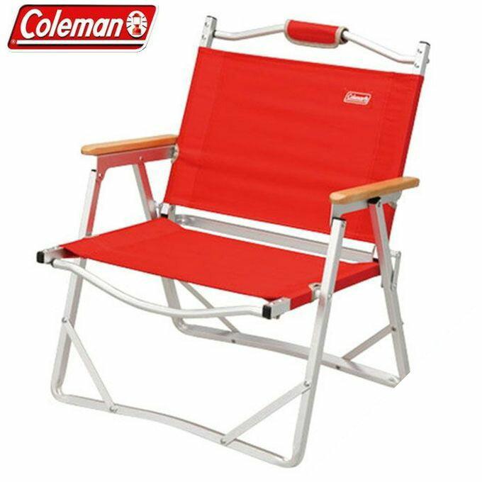 コールマン Coleman アウトドアチェアコンパクトフォールディングチェア レッド 170-7670アウトドア ファニチャー キャンプ BBQ バーベキュー 焚き火 od
