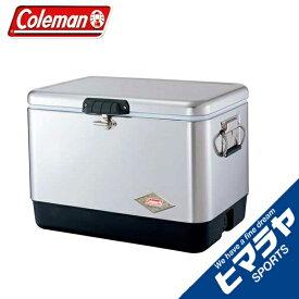 コールマン クーラーボックス 54QT スチールベルト クーラー シルバー 3000001343 coleman od