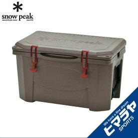 【期間限定5%OFFクーポンでお得にお買い物】 スノーピーク snow peak クーラーボックス ハードロッククーラー 40QT UG-302GY od