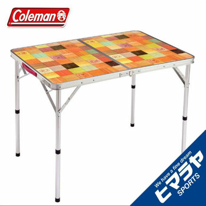 コールマン アウトドアテーブル 大型テーブル ナチュラルモザイクリビングテーブル/90プラス 2000026752 coleman od