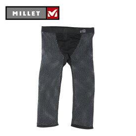 ミレー MILLET ロングタイツ レディース DRYNAMIC MESH 3/4 TIGHTS ドライナミック メッシュ 3/4 タイツ MIV01359 od