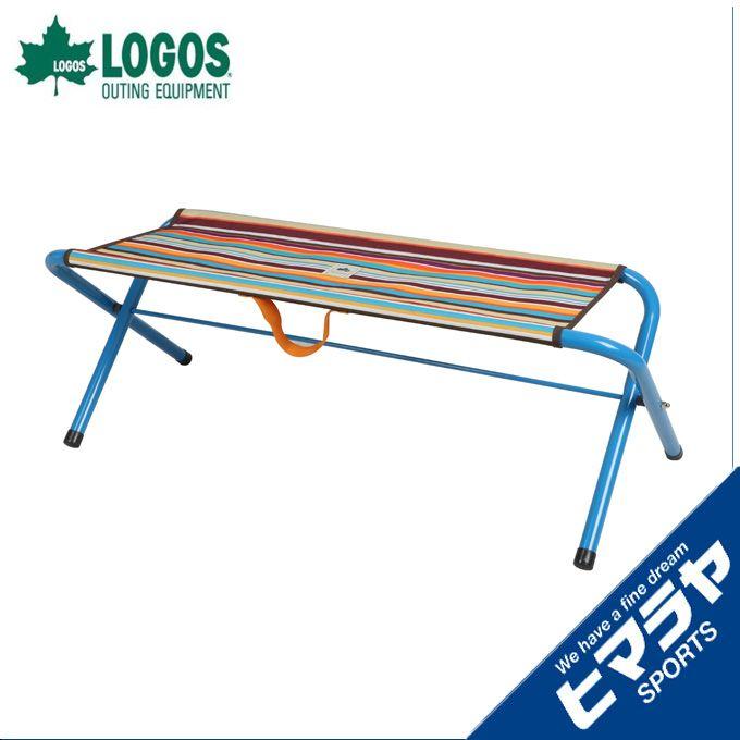 ロゴス LOGOS アウトドア ストライプスプレットベンチ 73176014 od