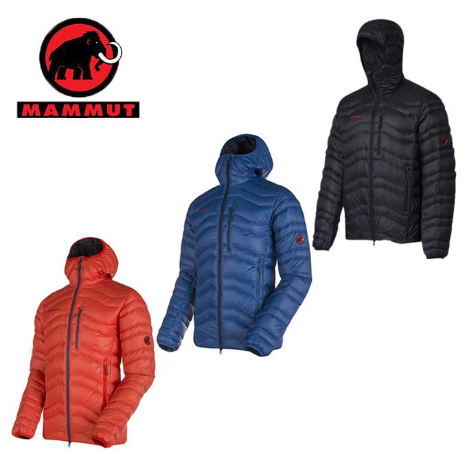 マムート (MAMMUT) アウトドアウェア ダウンジャケット Broad Peak IN Hooded Jacket AF Men 1010-21740 【国内正規品】 od