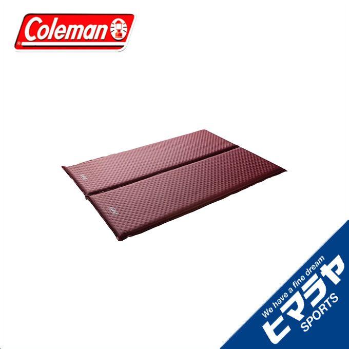 【期間限定5%OFFクーポンでお得にお買い物】コールマン Coleman アウトドア 大型マット キャンパーインフレーターマットWセット2 2000032353 od