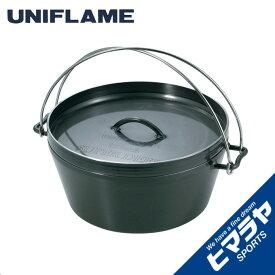 【期間限定5%OFFクーポンでお得にお買い物】 ユニフレーム UNIFLAME ダッチオーブン 12インチ 660997 od