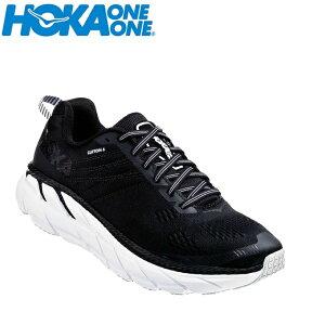 ホカ オネオネ HOKA ONEONE ランニングシューズ メンズ CLIFTON 6 クリフトン 1102872 BWHT run