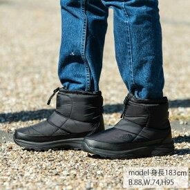 ノースフェイス スノーブーツ 冬靴 メンズ ヌプシ ブーティー ウォータープルーフ VI ショート NF51874 K od