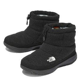 【期間限定5%OFFクーポンでお得にお買い物】ノースフェイス スノーブーツ 冬靴 レディース ヌプシ ブーティー ウール V ショート NFW51979 CH od