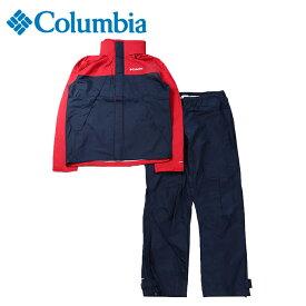 コロンビア レインウェア上下セット メンズ シンプソンサンクチュアリ 2 レインスーツ PM0126 613 Columbia od
