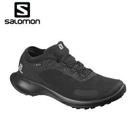 サロモン トレッキングシューズ ゴアテックス ローカット メンズ センスフィール GTX L40966300 salomon od