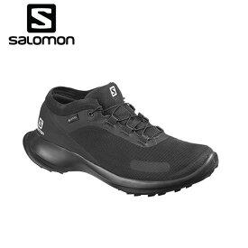 サロモン トレッキングシューズ ゴアテックス ローカット レディース センスフィール GTX L40966600 salomon od