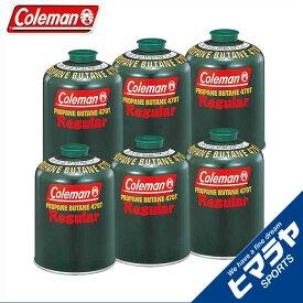 コールマン ガスカートリッジ 純正LPガス燃料[Tタイプ]470g 6個 5103A470T coleman od