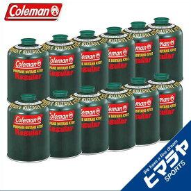 【期間限定5%OFFクーポンでお得にお買い物】 コールマン ガスカートリッジ 純正LPガス燃料[Tタイプ]470g 12個 5103A470T coleman od