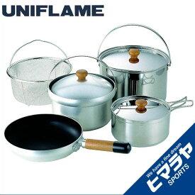 ユニフレーム UNIFLAME 調理器具セット 鍋 フライパン fan5 DX 660232 od