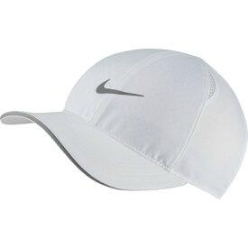 【期間限定8%OFFクーポン発行中】ナイキ キャップ 帽子 メンズ レディース フェザーライト キャップ AR1998-100 NIKE run