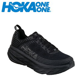 【期間限定5%OFFクーポン発行中】ホカ オネオネ HOKA ONEONE ランニングシューズ メンズ ボンダイ6 BONDI 6 ワイド 1019271 BBLC run