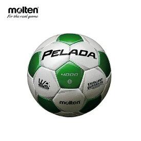 モルテン molten サッカーボール 5号球 検定球 中学校 高校 一般 ペレーダ4000 F5P4000-WG sc