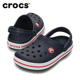 【お買い物マラソン限定 8%OFFクーポン発行中】 クロックス crocs サンダル ジュニア Kids' Crocband Clog クロックバンド キッズ 204537 sc