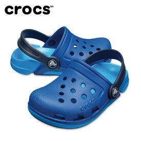 【お買い物マラソン限定 8%OFFクーポン発行中】 クロックス crocs サンダル ジュニア Kids' Electro III Clogs エレクトロ 3.0 クロッグ 204991 sc