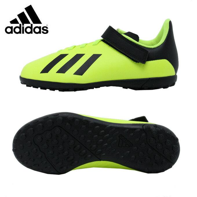 アディダス サッカー トレーニングシューズ ジュニア エックス タンゴ 18.4 TF J ベルクロ DB2921 CEX87 adidas sc