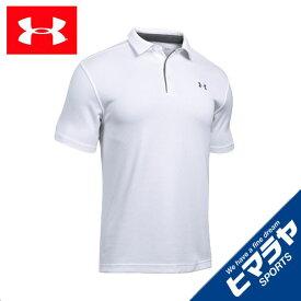 アンダーアーマー (UNDER ARMOUR) ポロシャツ 半袖 メンズ テックポロ 1290140 ゴルフウェア 吸汗速乾 ドライ スポーツウェア トレーニング ジム sw